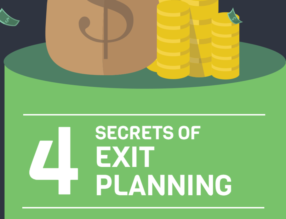 4 Secrets of Exit Planning [Infograph]