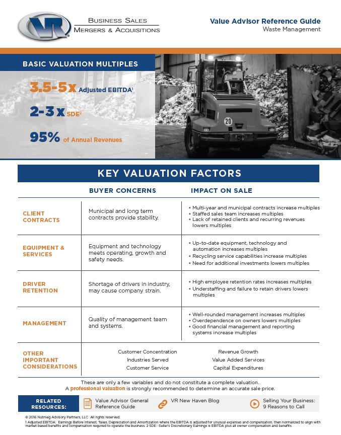 Waste Management Value Advisor