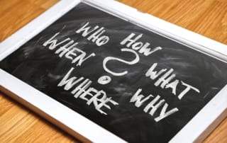 Seller Resource Questions, Who, What, Where, When, Why, & How