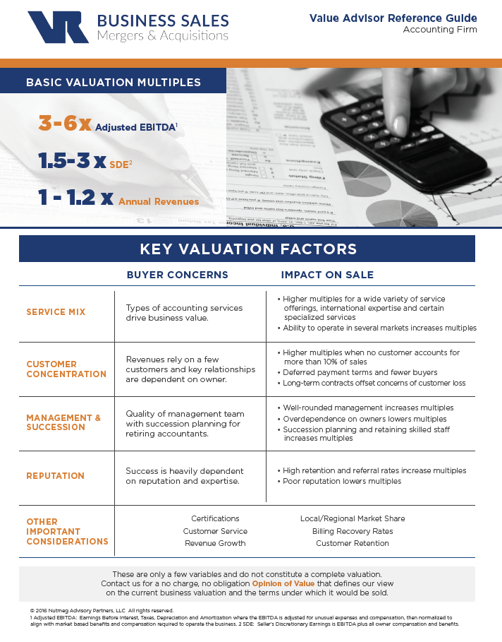Accounting Firm Value Advisor Preview Image