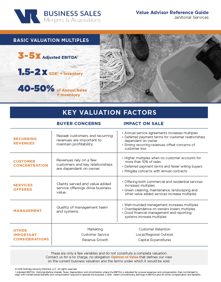 Janitorial Services Value Advisor Preview Image