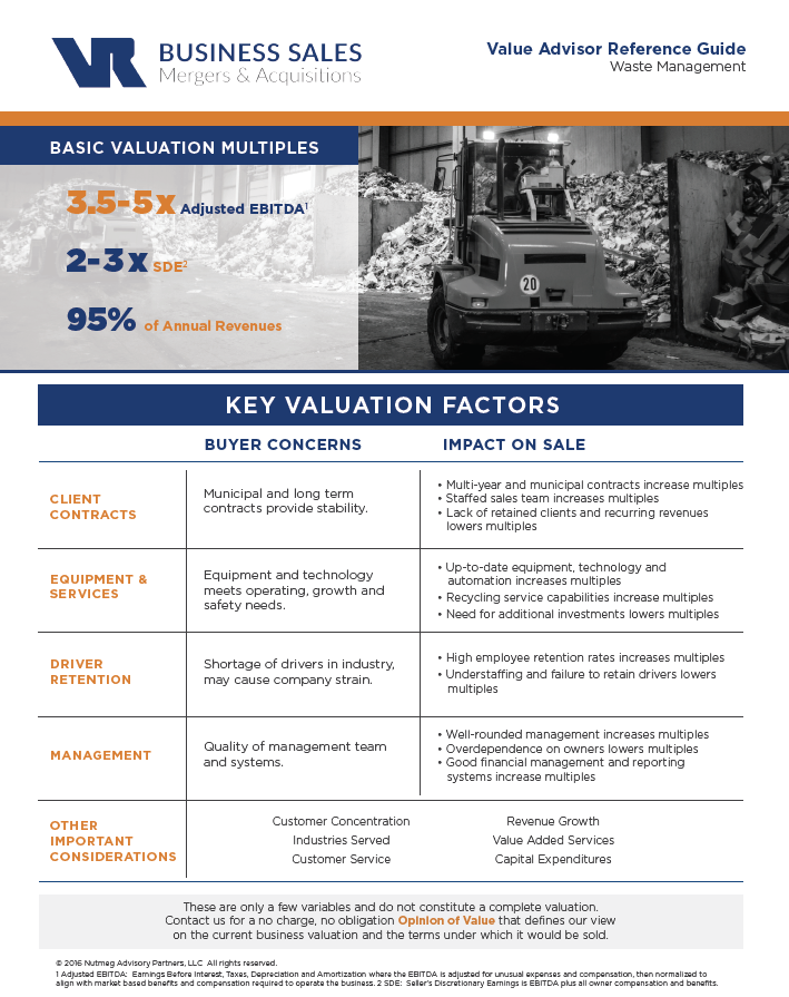 Waste Management Value Advisor Preview Image
