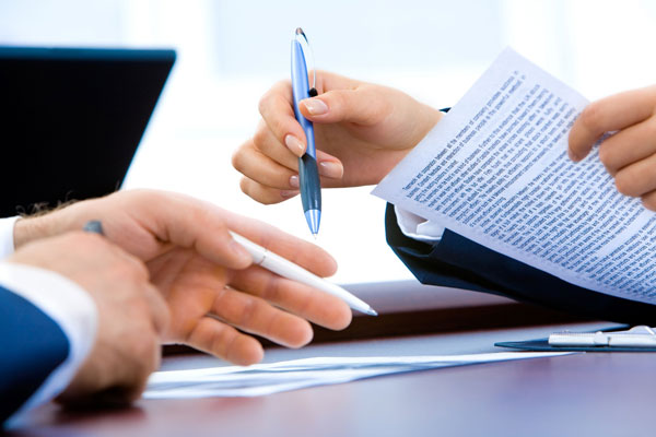 business sales contract
