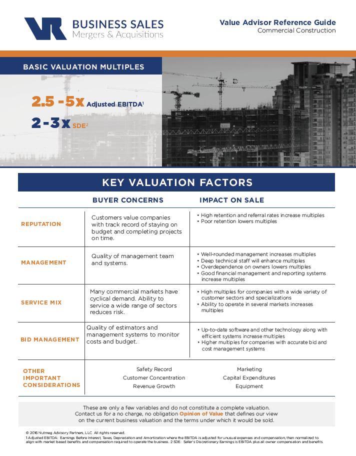 Commercial Construction Value Advisor